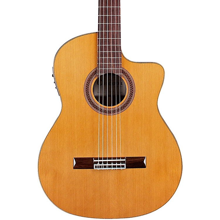 Cordoba C7-CE CD Classical Nylon Acoustic-Electric Guitar Natural