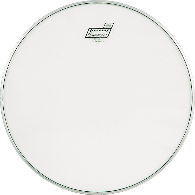 Ludwig C8100 Extended Collar Timpani Head Clear 20 Inch