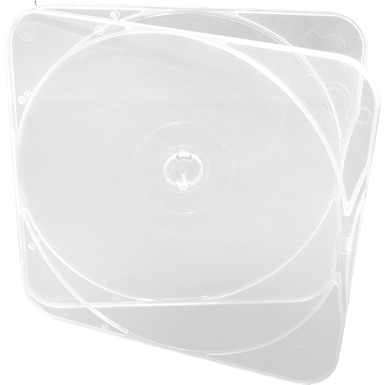 Microboards CB-11 DURASLIM CD/DVD/Blu-ray Cases - 500 Pack
