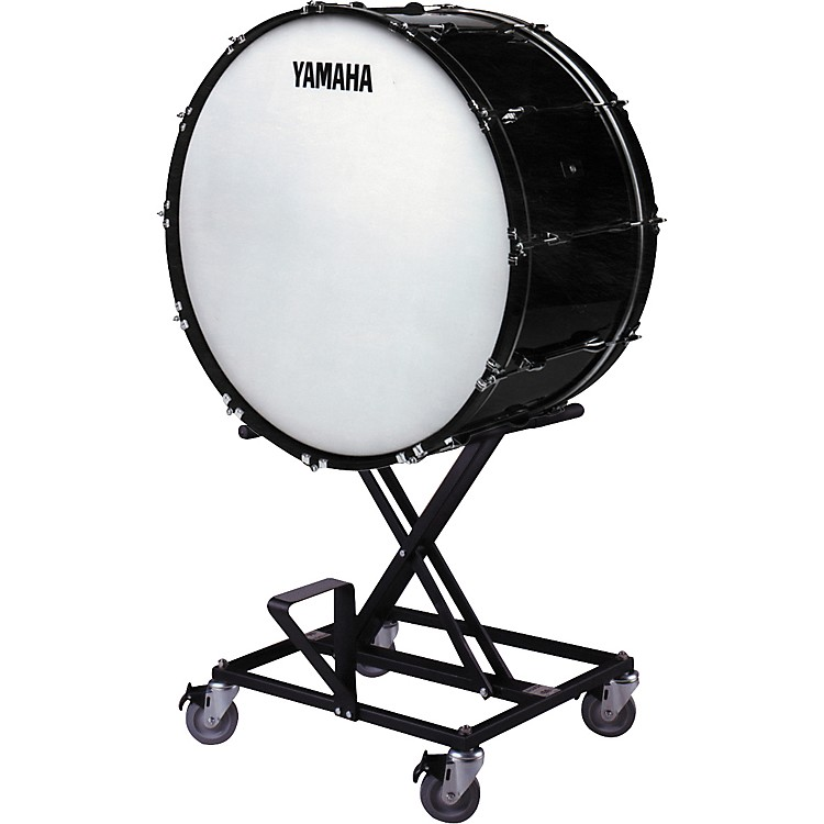 YamahaCB-636 Concert Bass Drum with BS425 Stand & Cover