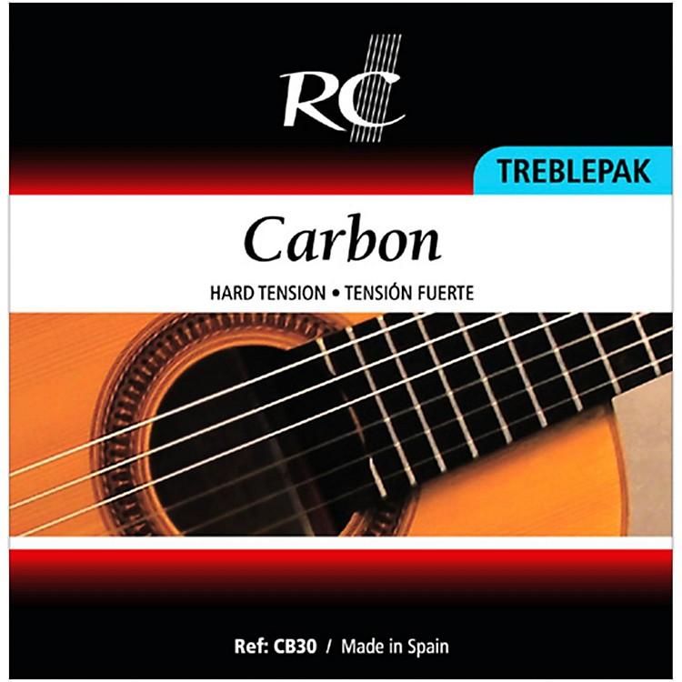 RC StringsCB30 Carbon Treblepak - 1st, 2nd and 3rd Strings for Nylon String Guitar