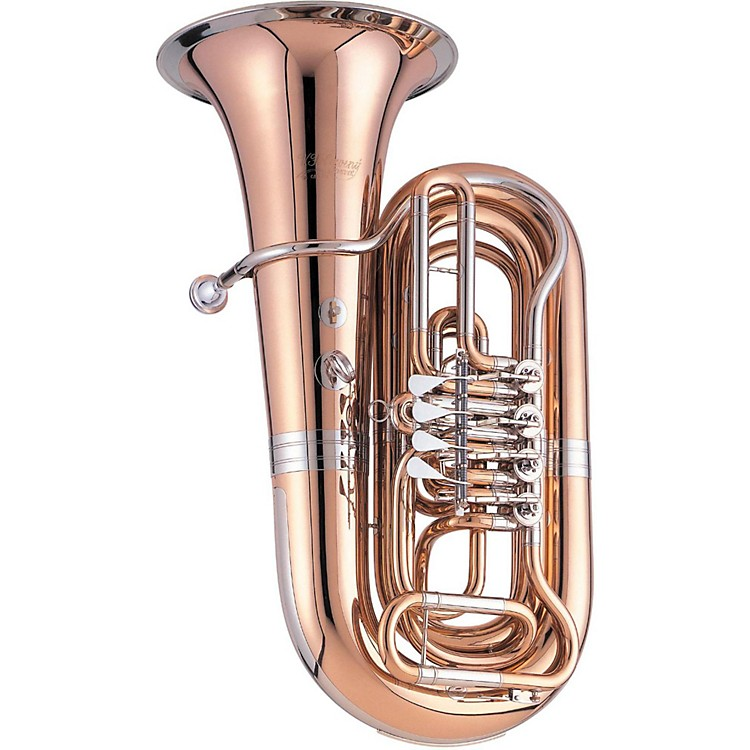 Cerveny CBB 783-4 Arion Series 4-Valve 3/4 BBb Tuba Instrument with Case