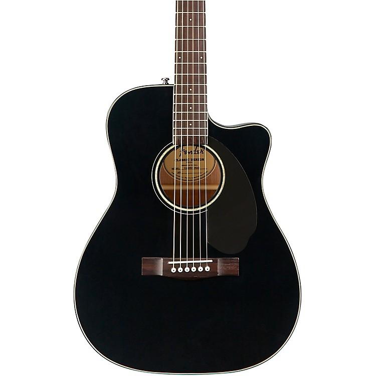 FenderCC-60SCE Concert Acoustic-Electric GuitarBlack
