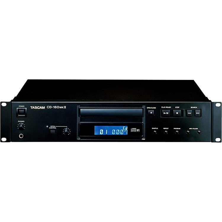 TascamCD-160mkII  Professional Single CD Player with MP3 Playback and Digital Outputs886830382314