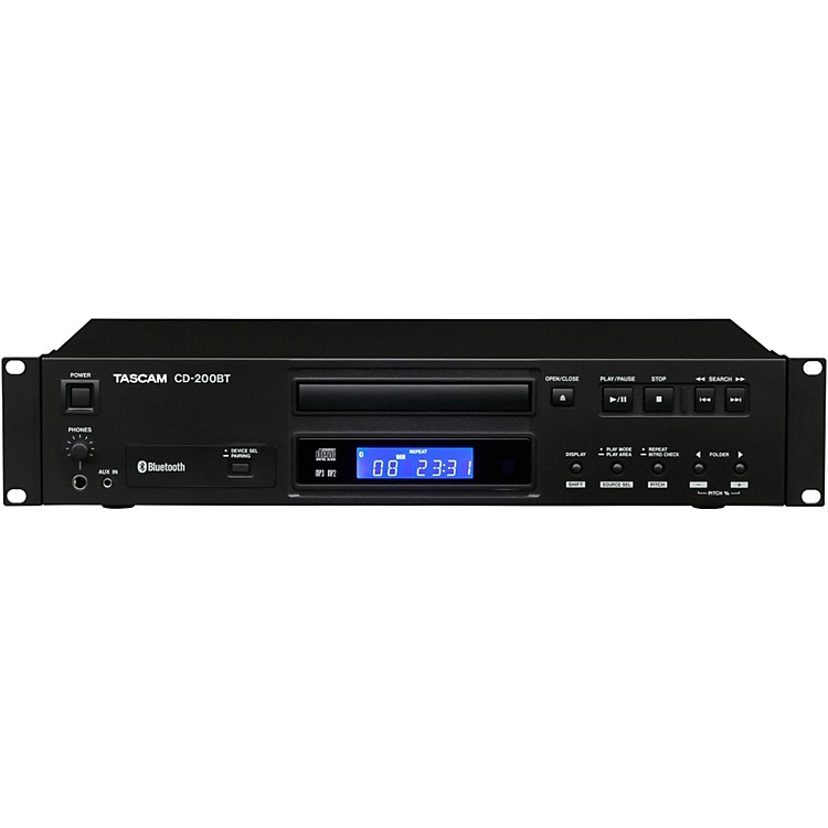 TascamCD-200BT Professional CD Player with Bluetooth Receiver