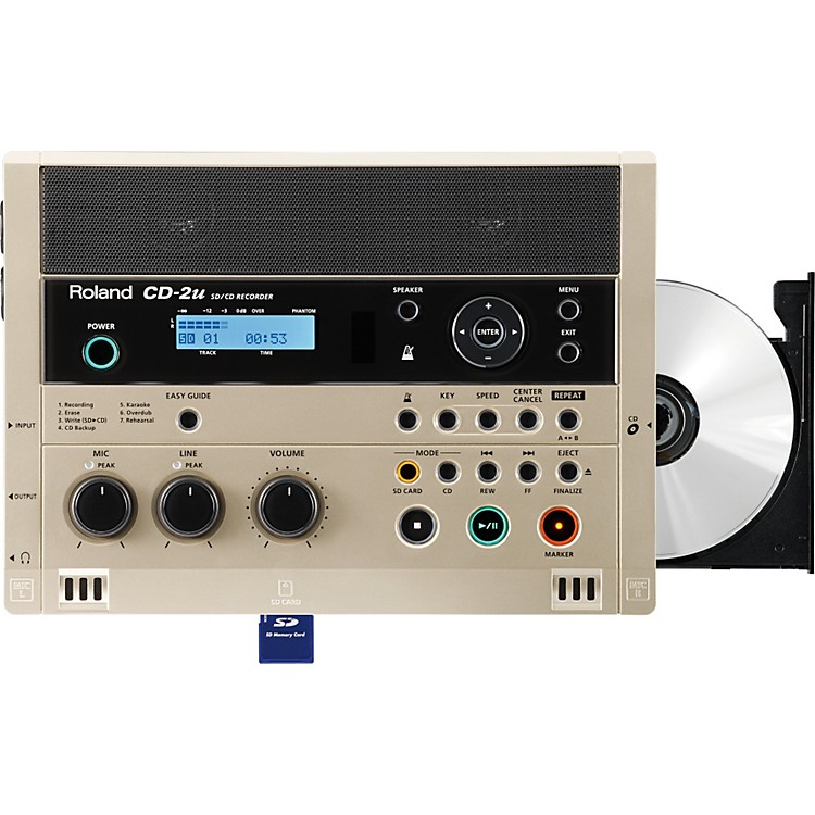 Roland CD-2u SD/CD Recorder  888365856506