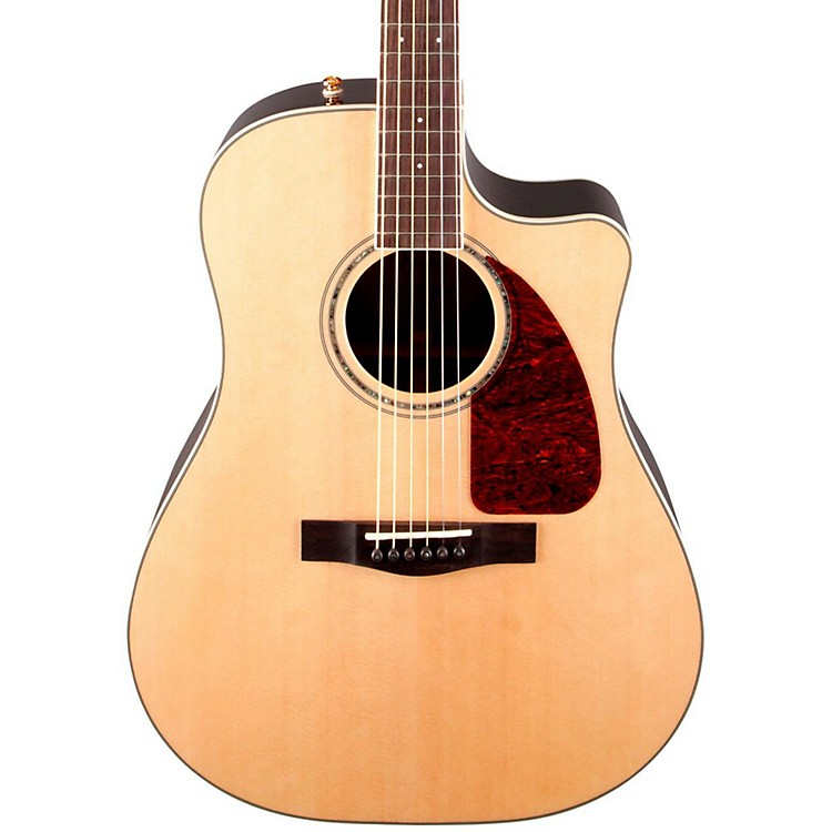 Fender CD-320ASRWCE Dreadnought Acoustic-Electric Guitar Natural