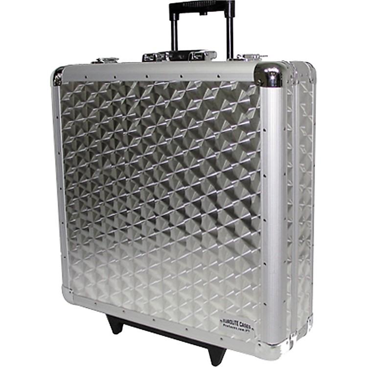 EuroliteCD-4RR 4-Row Rolling CD Case