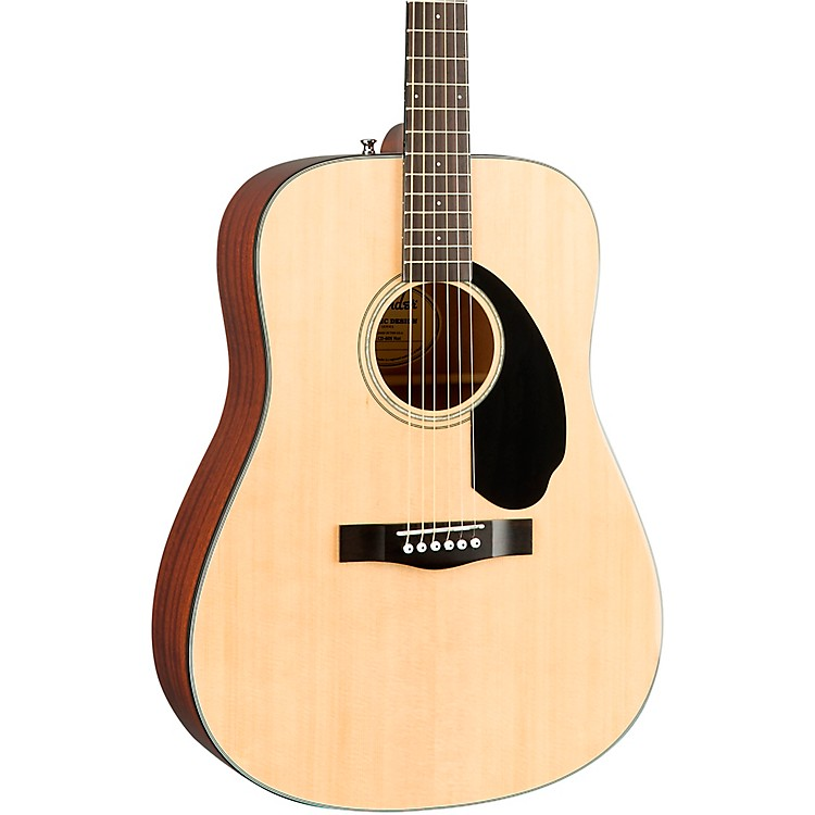 Fender CD-60S Dreadnought Acoustic Guitar Natural
