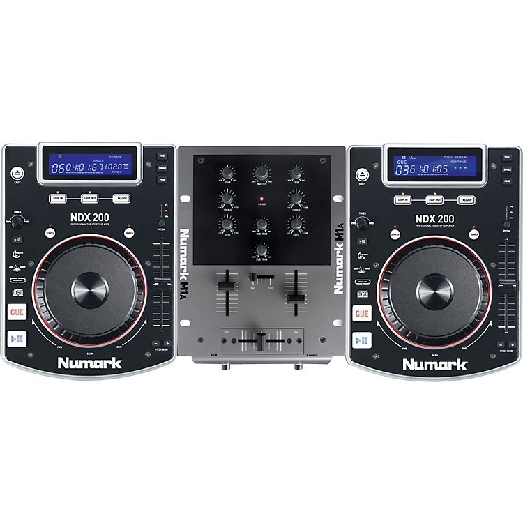 Numark CD DJ in a BOX DJ System