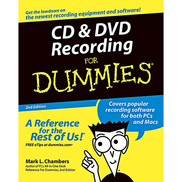 Mel BayCD & DVD Recording for Dummies