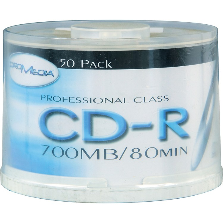 BK MediaCD-R 80-Minute 52X 50-Pack