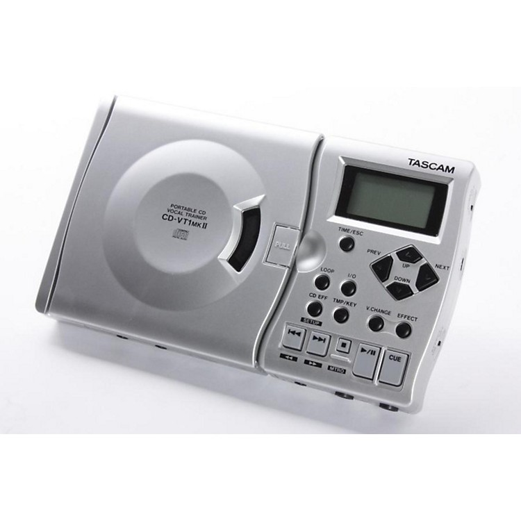 Tascam CD-VT1mkII Portable CD Vocal Trainer  886830595134