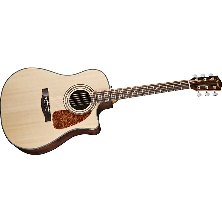 Fender CD280SCE Dreadnought Cutaway Acoustic-Electric Guitar