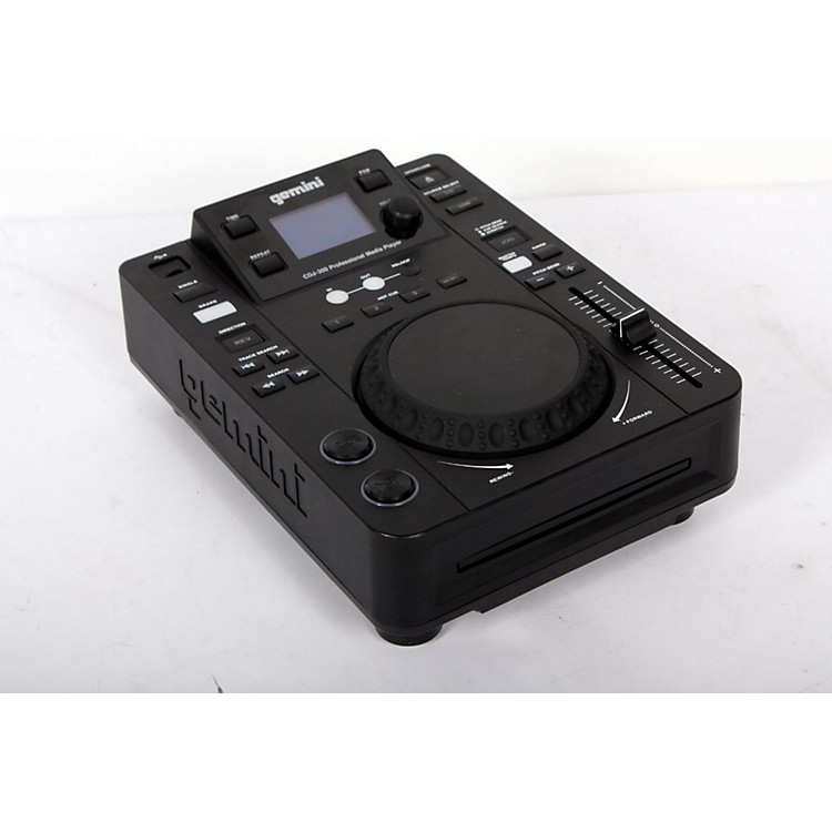 Gemini CDJ-300 Tabletop MP3/CD/USB Deck  888365776569
