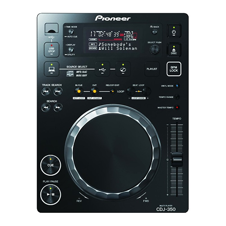 PioneerCDJ-350  Digital Multi Player