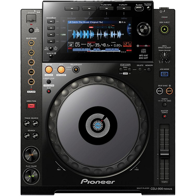 Pioneer CDJ-900 Nexus Performance Tabletop Digital Multi-Player