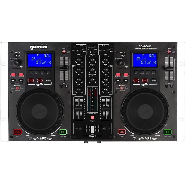 GeminiCDM-3610 Dual CD/MP3 Mixing Console