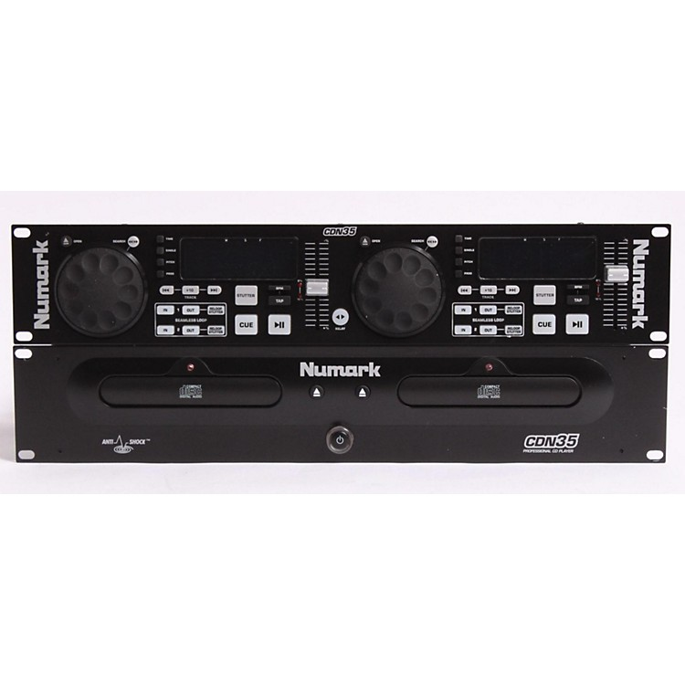 NumarkCDN35 Dual Rackmount CD Player889406598850