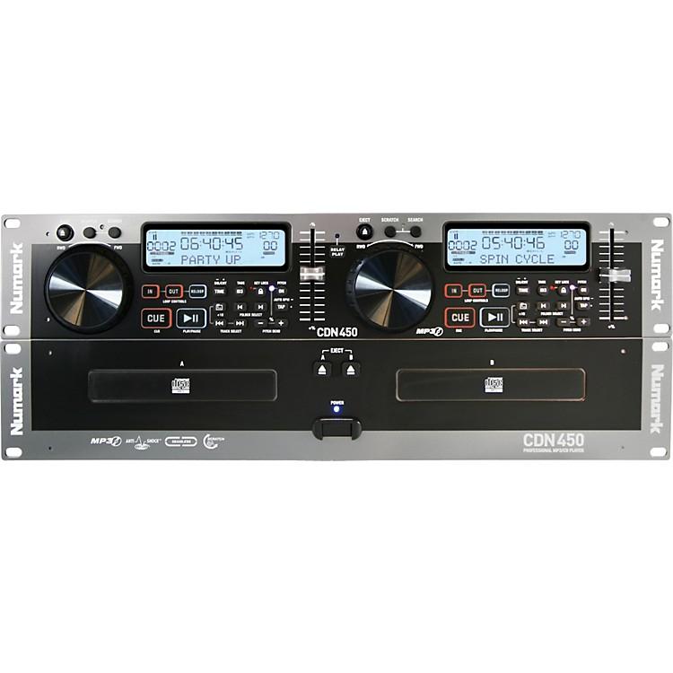 NumarkCDN450 Rack Mount Professional Dual MP3/CD Player