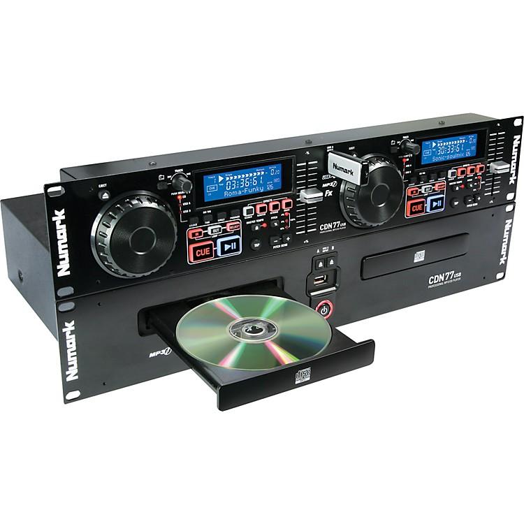 NumarkCDN77USB Dual USB and CD/MP3 Player