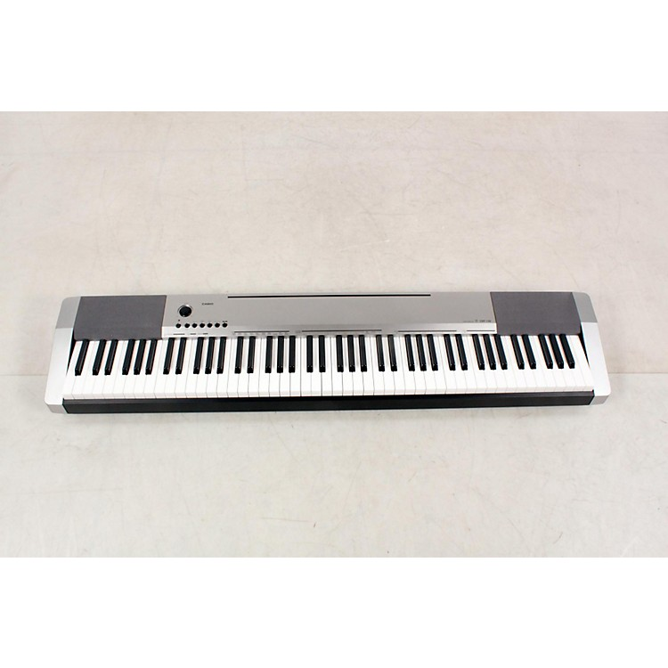 Casio CDP-130 Digital Piano Silver Silver 888365897653