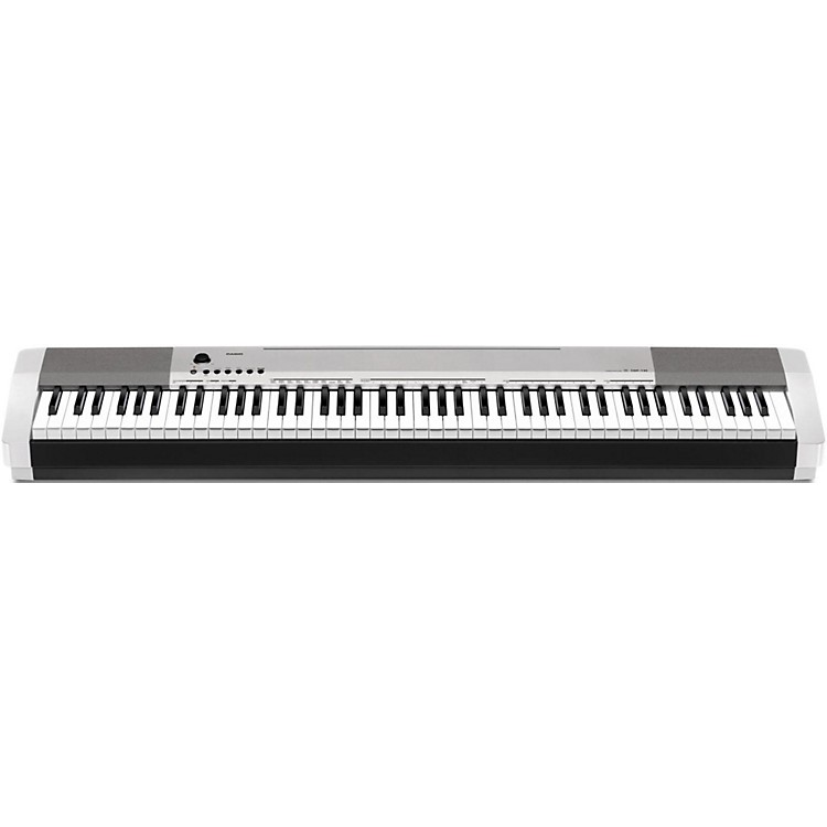 Casio CDP-130 Digital Piano Silver Silver