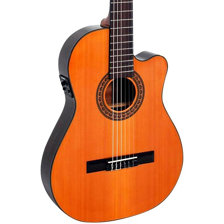 Giannini CDR-PRO Nylon String Acoustic-Electric Guitar Natural