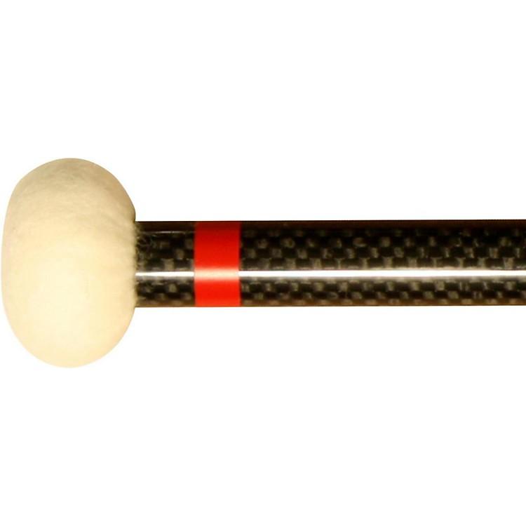 Black Swamp PercussionCF1 Carbon Fiber Timpani Mallets Hard (Red)