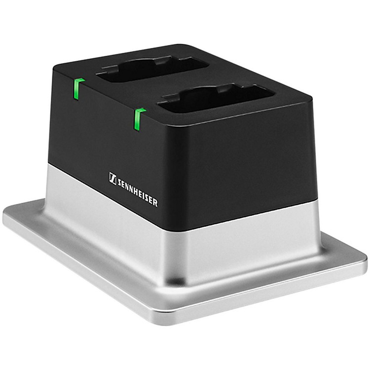 SennheiserCHG 2 US 2-bay Table Top Charger with US Power Supply