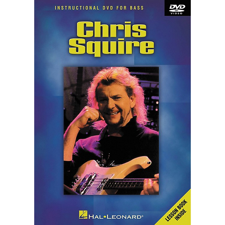 Hal Leonard CHRIS SQUIRE - INSTRUCTIONAL BASS DVD