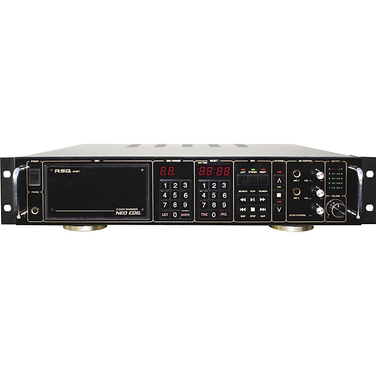 RSQ CK-1 10-Disc Magazine Karaoke Player