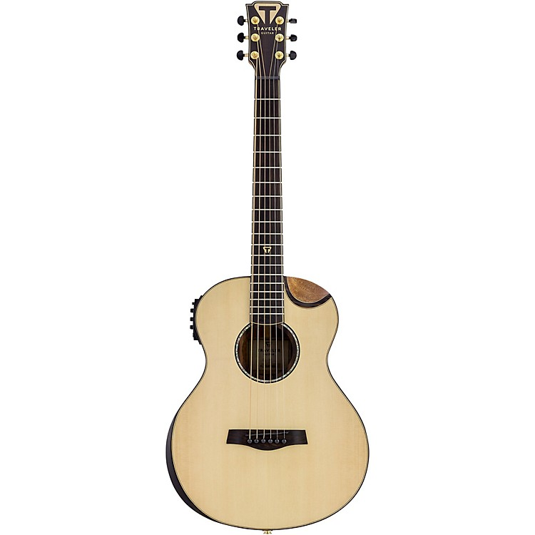 Traveler Guitar CL-3E Compact Acoustic-Electric Guitar Satin Natural 0.75