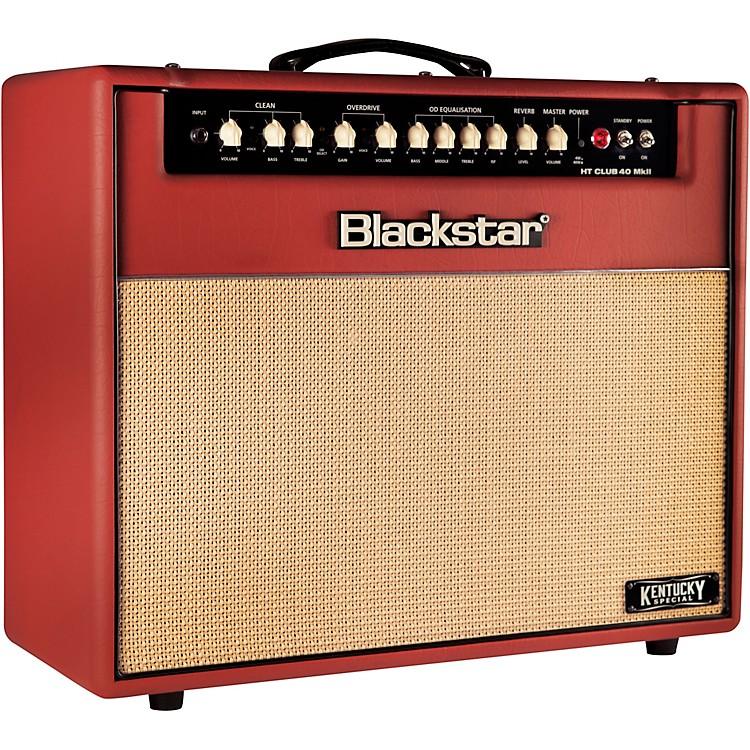 BlackstarCLUB40CMKII Limited Edition Kentucky Special 40W 1x12 Tube Guitar Combo AmpDeep Red
