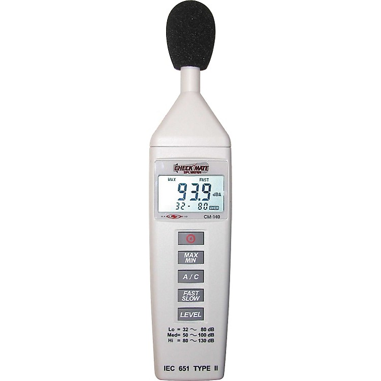 Galaxy Audio CM-140 Check Mate SPL Meter