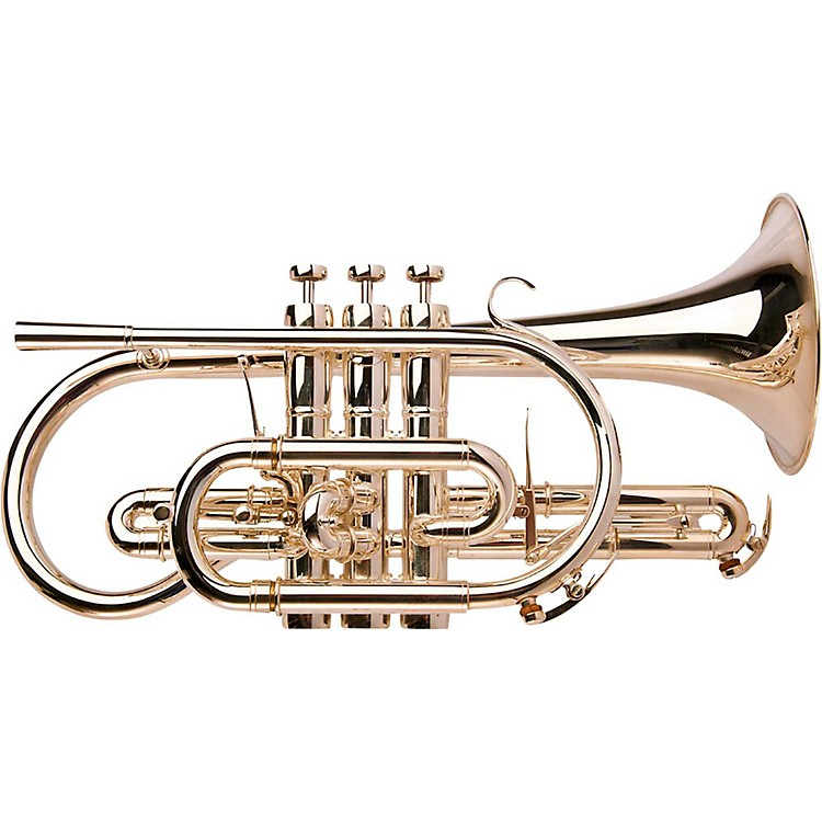 Adams CN1 Selected Series Professional Bb Cornet Silver plated