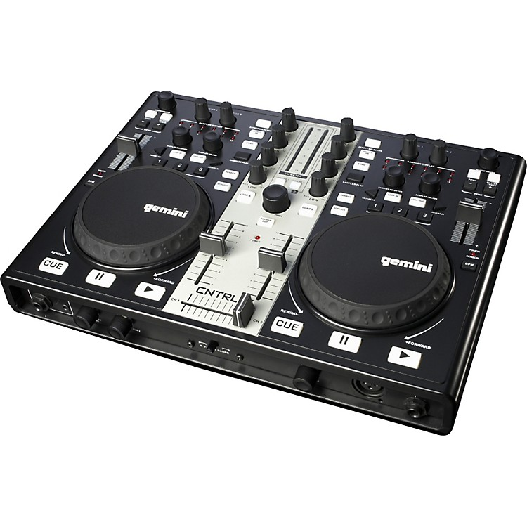 Gemini CNTRL-7 USB/MIDI DJ Mixer & Controller with Sound Card