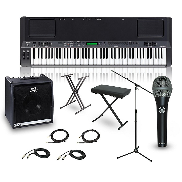 Yamaha CP-300 88-Key Complete Stage Piano Package