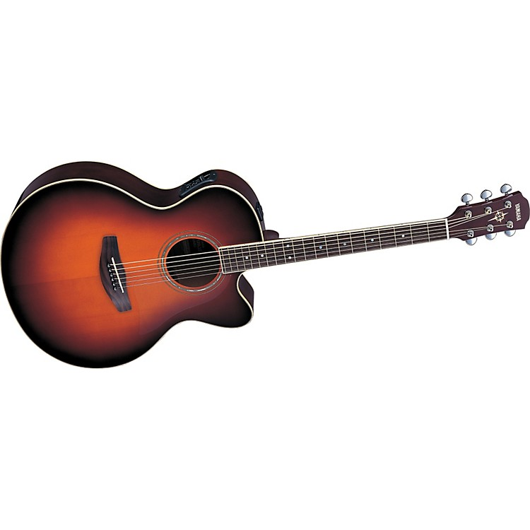 yamaha cpx500 jumbo cutaway acoustic electric guitar music123. Black Bedroom Furniture Sets. Home Design Ideas