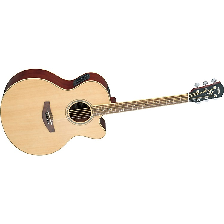 YamahaCPX500II Medium-Jumbo Cutaway Acoustic-Electric GuitarNatural