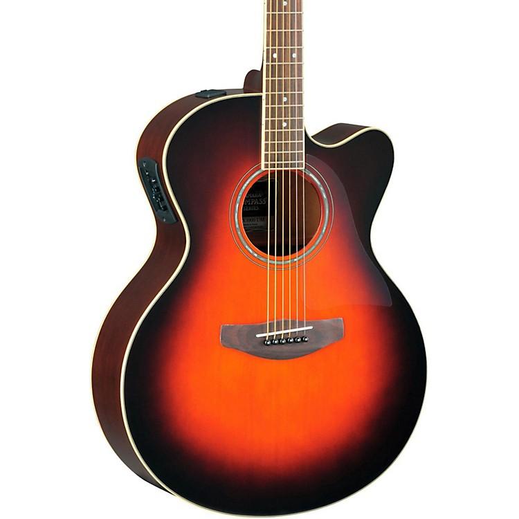 YamahaCPX500II Medium-Jumbo Cutaway Acoustic-Electric GuitarBlack
