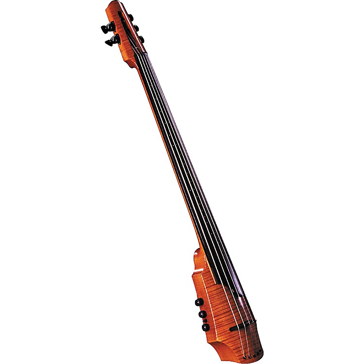 NS Design CR Series 5-String Electric Cello Amber Stain
