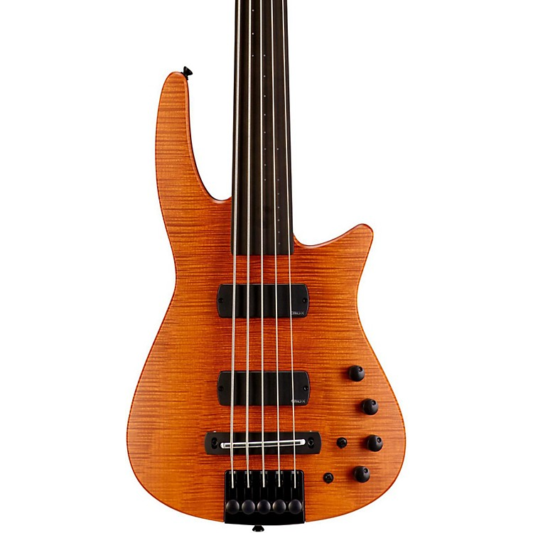 NS DesignCR5 RADIUS Fretless Bass GuitarSatin Amber