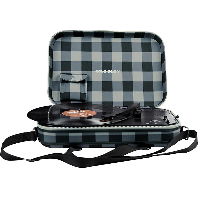 Crosley CR8016A Messenger Turntable Gray