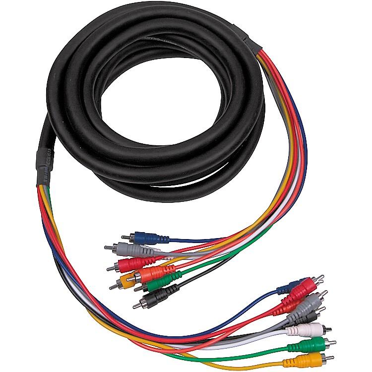 HosaCRA-802 RCA-RCA 8-Channel Multitrack Recording Snake6.6 ft.