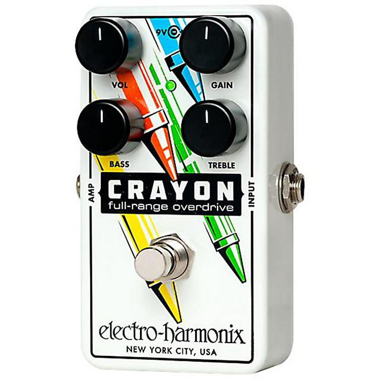Electro-HarmonixCRAYON Full Range Overdrive - 76
