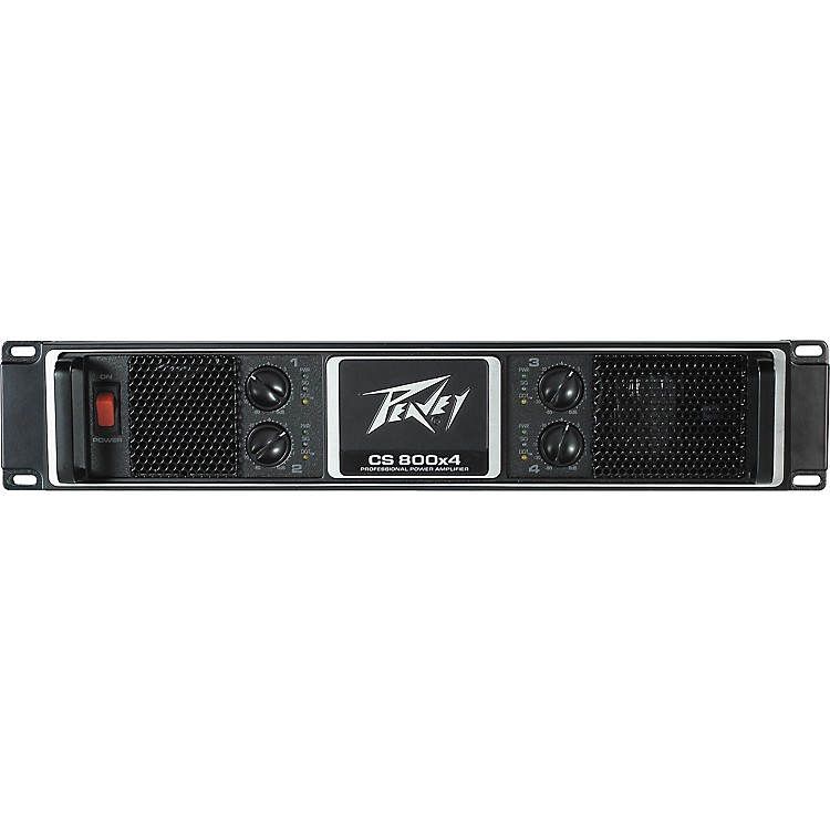 peavey cs 800x4 power amplifier music123. Black Bedroom Furniture Sets. Home Design Ideas