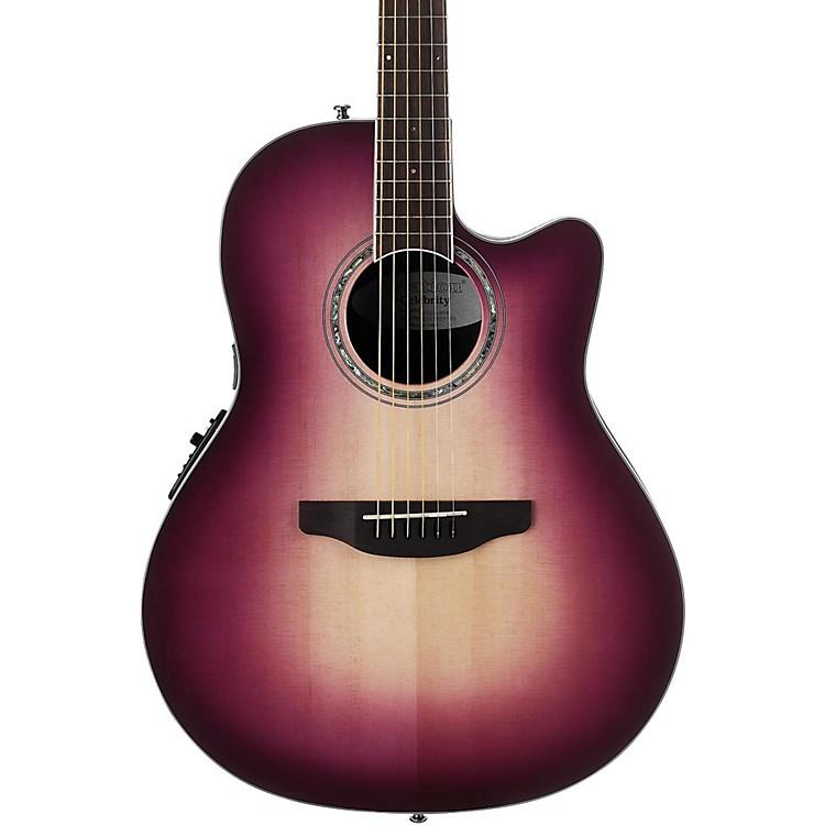 OvationCS28 Celebrity Standard Acoustic-Electric GuitarMagenta Purple Burst