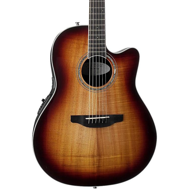 OvationCS28P-KOAB Celebrity Standard Plus Super Shallow Acoustic-Electric GuitarTransparent Tiger Eye