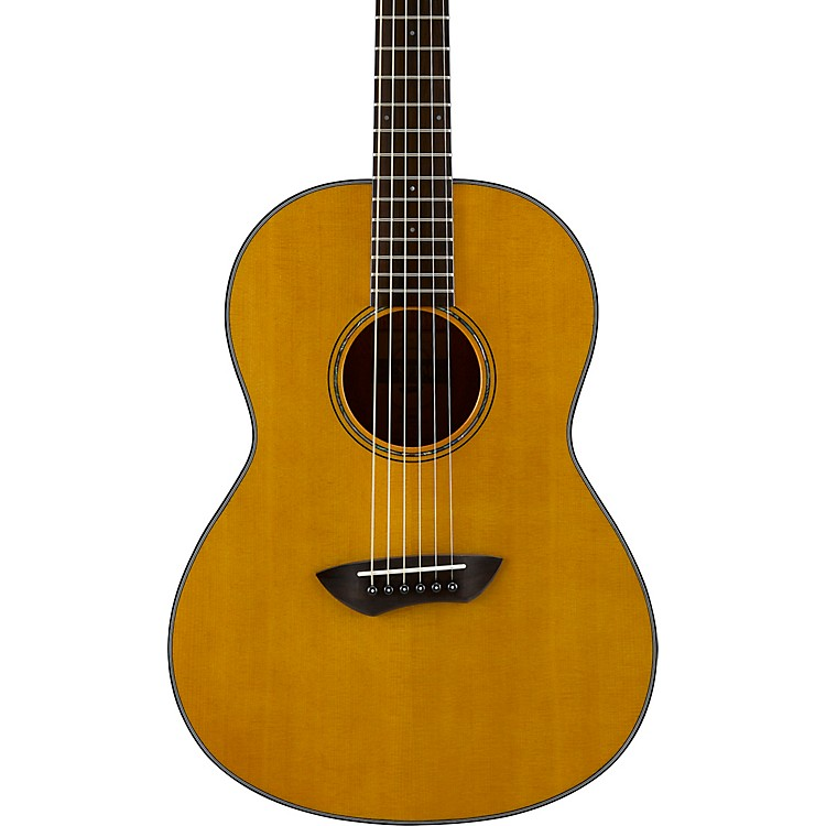 YamahaCSF1M Parlor Acoustic-Electric GuitarVintage Natural